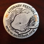 Hand-drawn Mouseguard button at #nccomicon #nclitfest