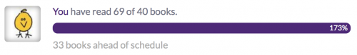 Probably not going to read 31 books this month